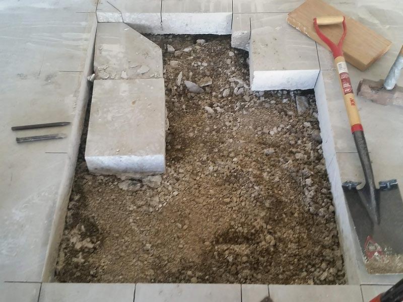 Wheelchair Platform Lift Floor Removal